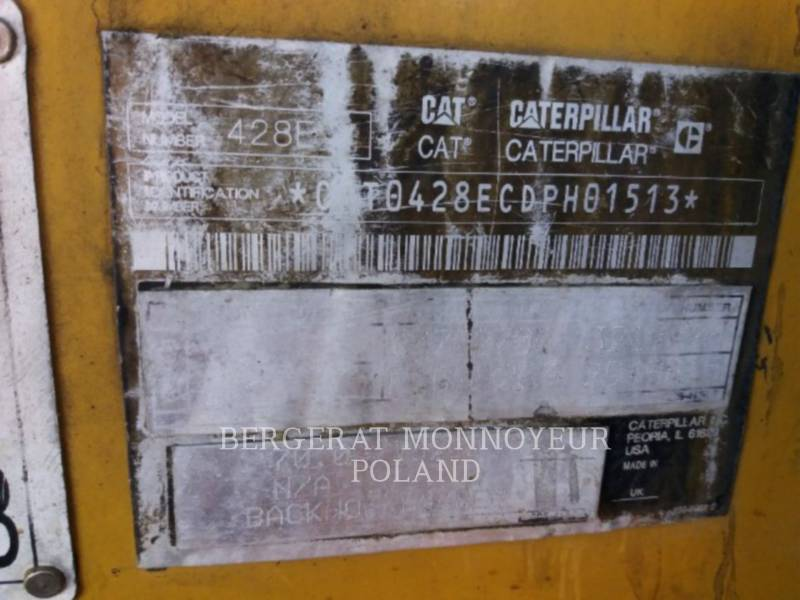 CATERPILLAR KOPARKO-ŁADOWARKI 428E equipment  photo 2