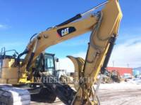 CATERPILLAR TRACK EXCAVATORS 335F CR CF equipment  photo 8
