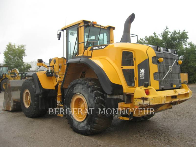 VOLVO CONSTRUCTION EQUIPMENT CHARGEURS SUR PNEUS/CHARGEURS INDUSTRIELS L150G equipment  photo 4