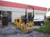 CATERPILLAR TAMBOR DOBLE VIBRATORIO ASFALTO CB22B equipment  photo 3