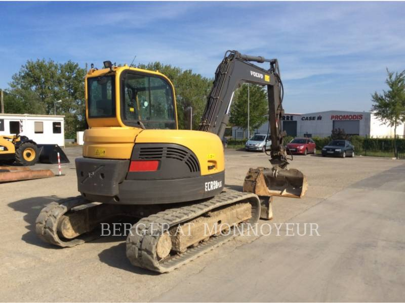 VOLVO CONSTRUCTION EQUIPMENT TRACK EXCAVATORS ECR88 equipment  photo 2