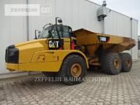 CATERPILLAR KNICKGELENKTE MULDENKIPPER 740B equipment  photo 1