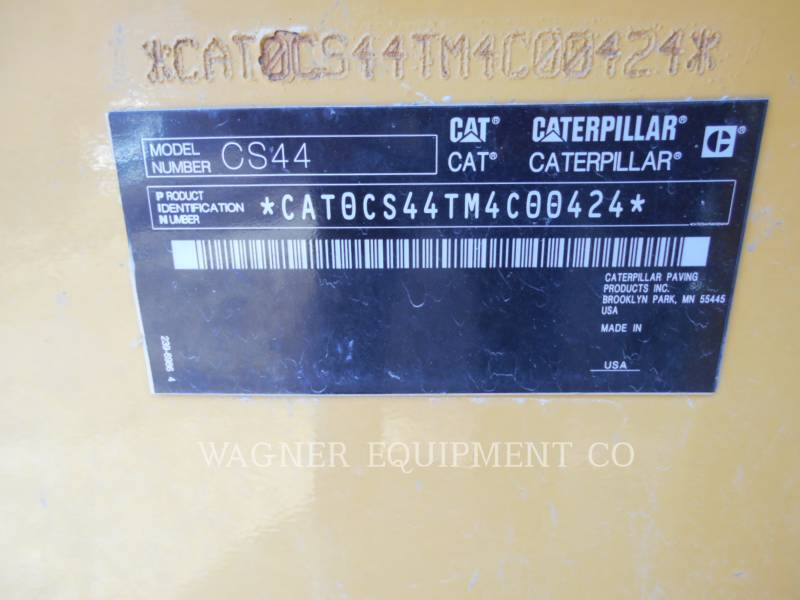 CATERPILLAR COMPACTEURS CS44 equipment  photo 5
