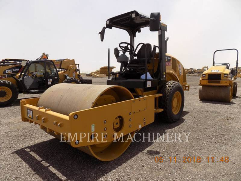 CATERPILLAR COMPACTEUR VIBRANT, MONOCYLINDRE LISSE CS44B equipment  photo 4