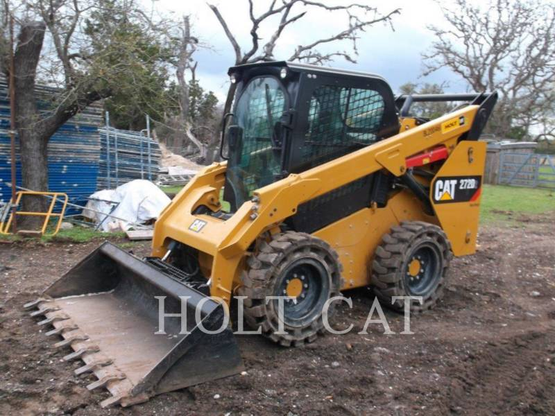 CATERPILLAR MINICARGADORAS 272D equipment  photo 4