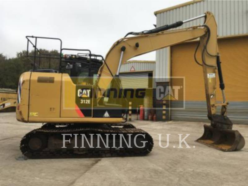 CATERPILLAR TRACK EXCAVATORS 312E DCA2 equipment  photo 4