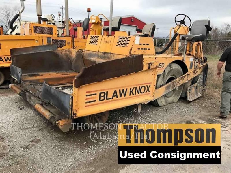 BLAW KNOX PAVIMENTADORA DE ASFALTO PF-150 equipment  photo 1