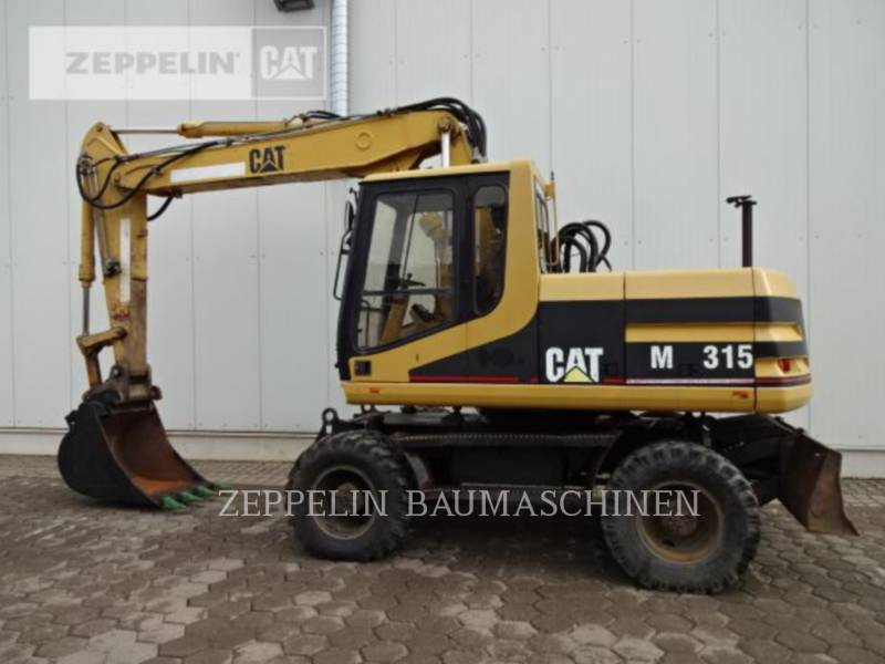 CATERPILLAR PELLES SUR PNEUS M315 equipment  photo 6