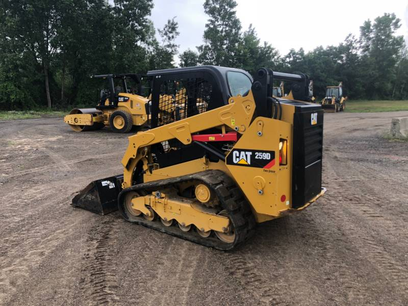CATERPILLAR MULTI TERRAIN LOADERS 259 D equipment  photo 13