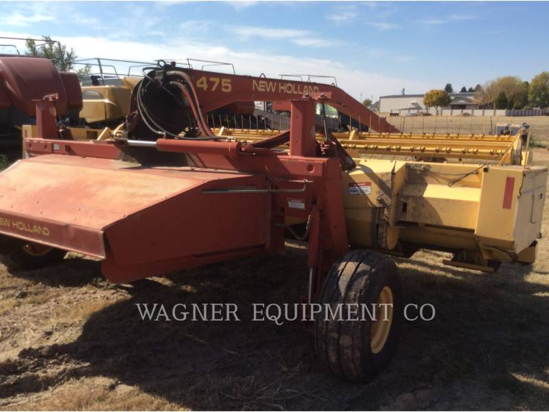 NEW HOLLAND LTD. AG HAY EQUIPMENT 1475 equipment  photo 9