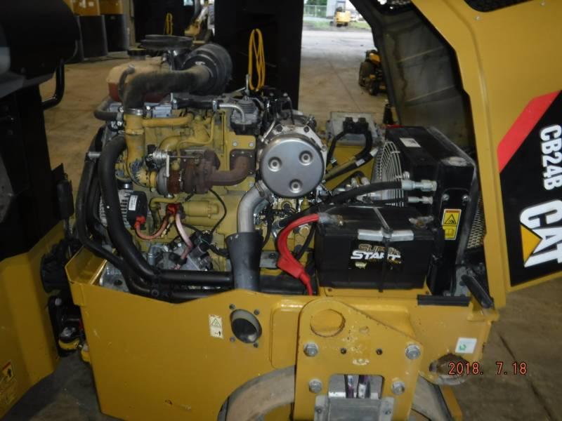 CATERPILLAR VIBRATORY DOUBLE DRUM ASPHALT CB24B equipment  photo 10