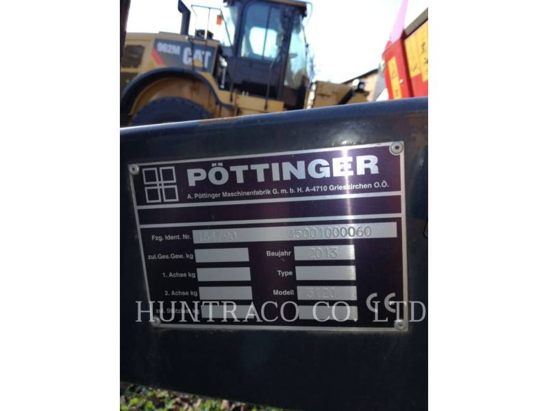 POTTINGER AUTRES MATERIELS AGRICOLES ROLLPROFI 3120L equipment  photo 5