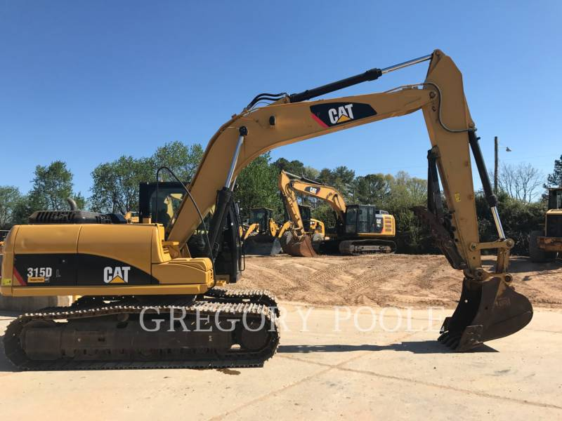CATERPILLAR TRACK EXCAVATORS 315D L equipment  photo 4