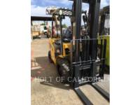 Equipment photo CATERPILLAR MITSUBISHI P7000-LE FORKLIFTS 1