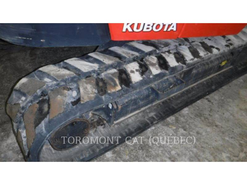 KUBOTA CORPORATION KOPARKI GĄSIENICOWE KX080 equipment  photo 9