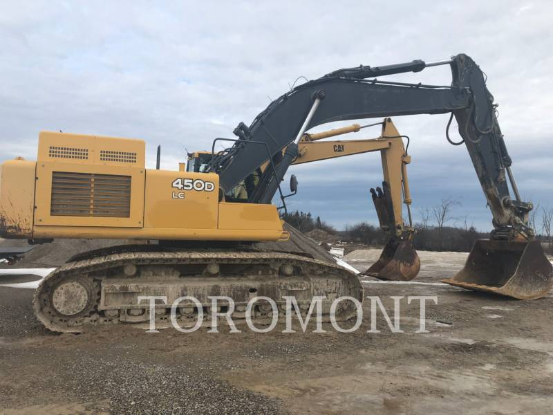 DEERE & CO. TRACK EXCAVATORS 450DL equipment  photo 1