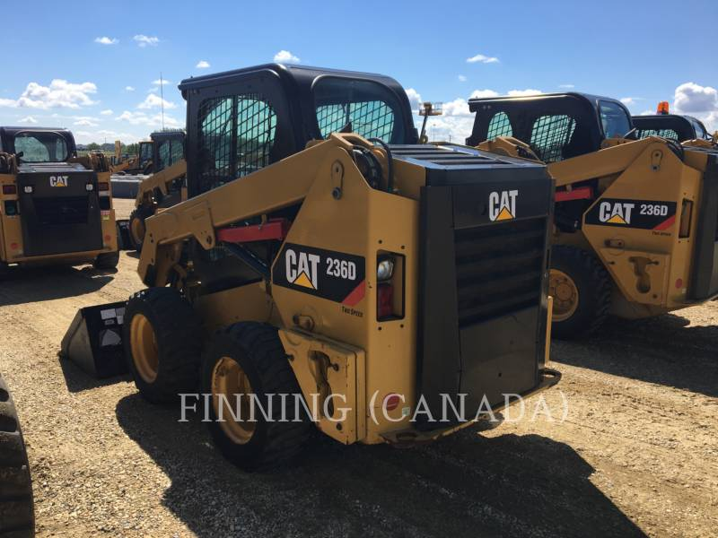 CATERPILLAR PALE COMPATTE SKID STEER 236D equipment  photo 3