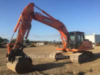 Equipment photo DOOSAN INFRACORE AMERICA CORP. DX255LC-3 RUPSGRAAFMACHINES 1