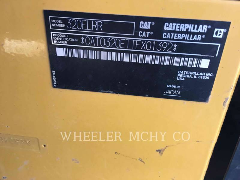 CATERPILLAR PELLES SUR CHAINES 320E LRRTH equipment  photo 4