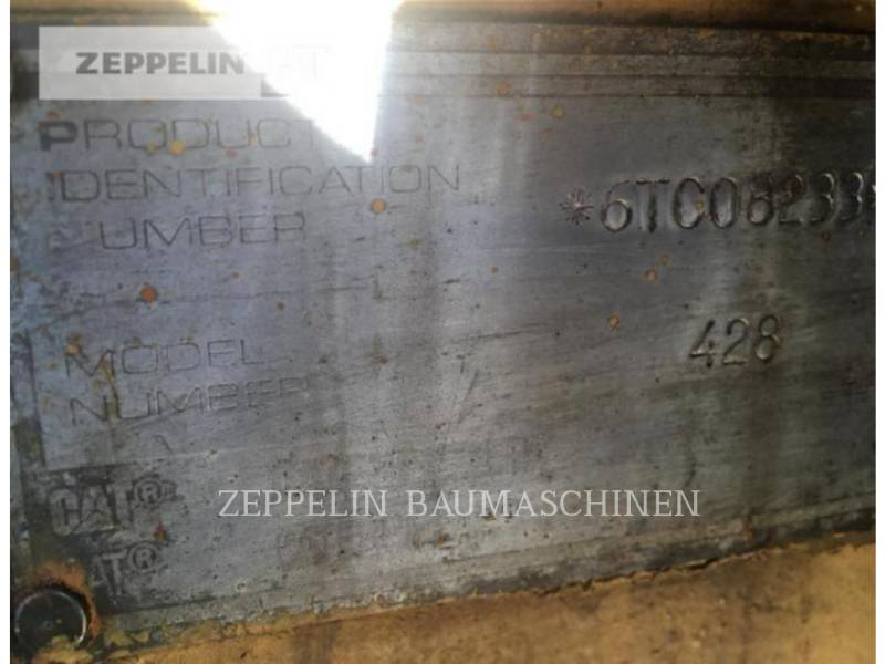 CATERPILLAR KOPARKO-ŁADOWARKI 428AT equipment  photo 2