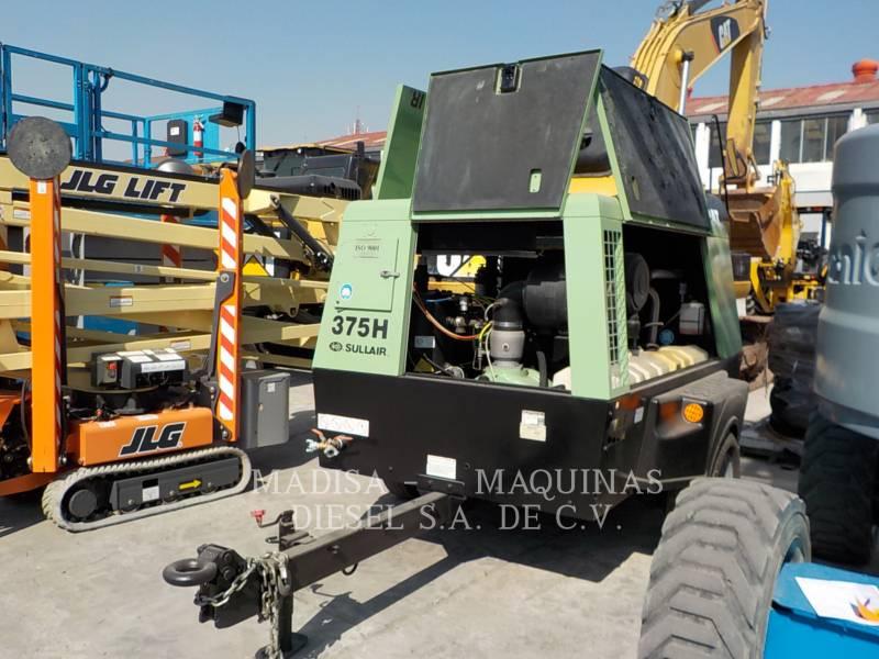 SULLAIR AIR COMPRESSOR (OBS) 375HDPQ-CA equipment  photo 1