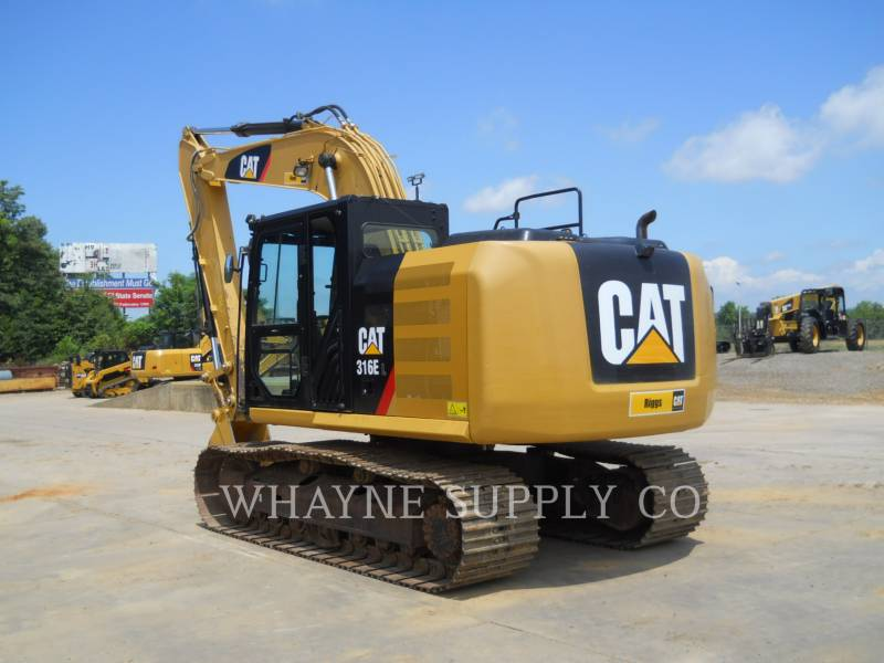 CATERPILLAR RUPSGRAAFMACHINES 316EL equipment  photo 3