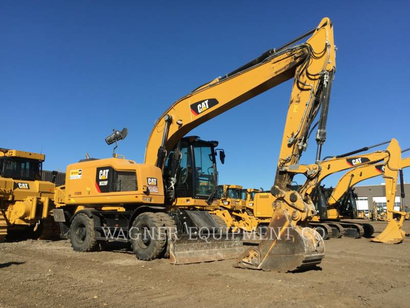 CATERPILLAR PELLES SUR PNEUS M320F equipment  photo 1