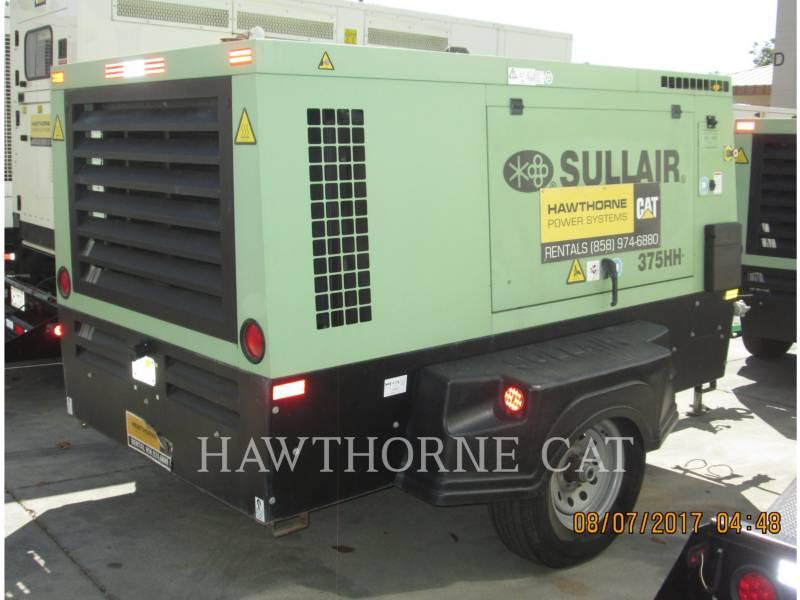 SULLAIR AIR COMPRESSOR 375CHH/AF/DPQ/CA4 equipment  photo 3