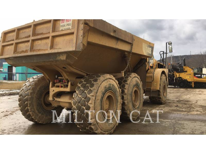 CATERPILLAR CAMIONES ARTICULADOS 740B equipment  photo 4