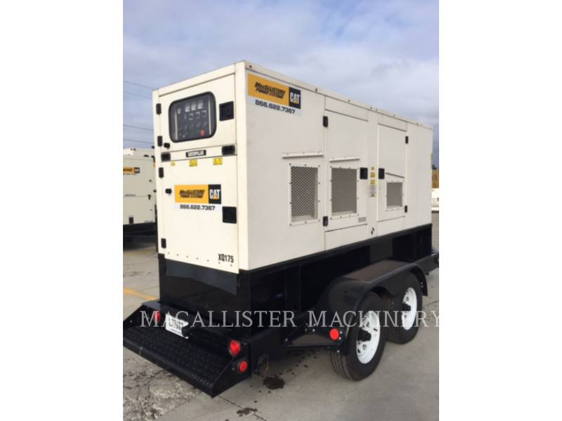 CATERPILLAR PORTABLE GENERATOR SETS XQ 175 equipment  photo 16