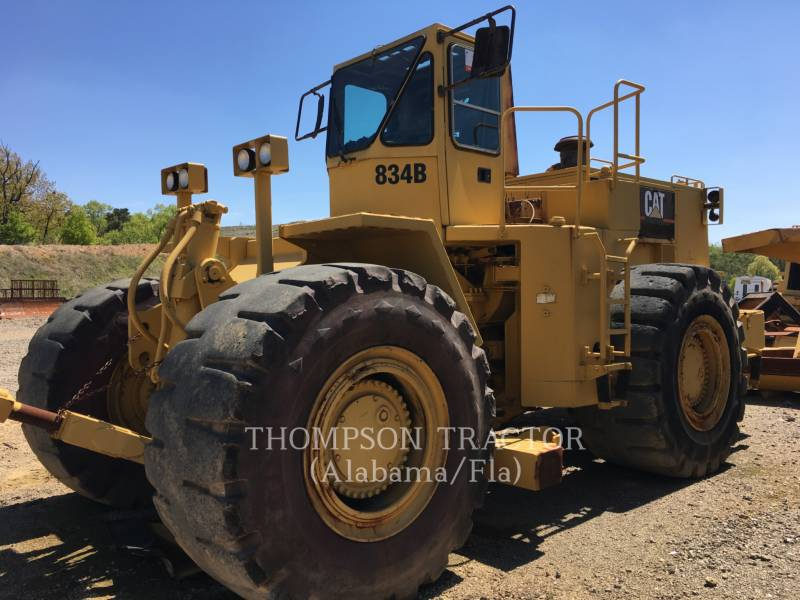 CATERPILLAR TRACTORES TOPADORES DE RUEDAS 834B equipment  photo 1