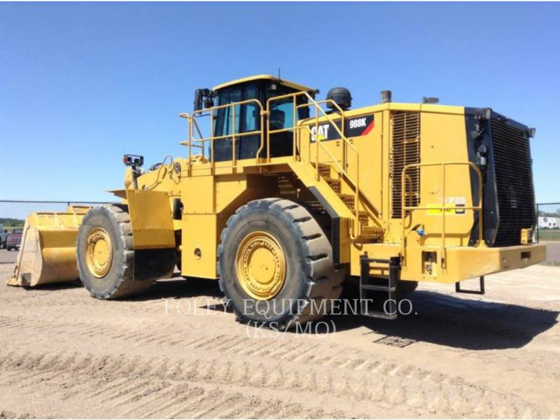 CATERPILLAR PALA GOMMATA DA MINIERA 988K equipment  photo 4