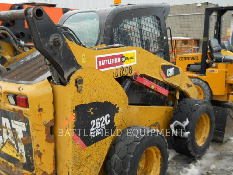 CATERPILLAR KOMPAKTLADER 262C equipment  photo 6