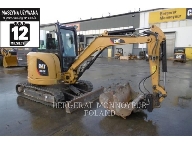 CATERPILLAR KETTEN-HYDRAULIKBAGGER 303.5E CR equipment  photo 1
