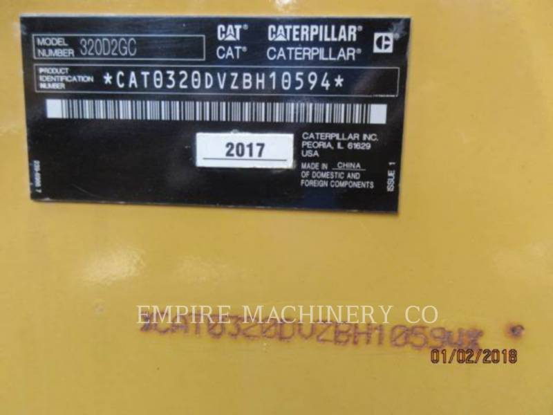 CATERPILLAR PELLES SUR CHAINES 320D2-GC equipment  photo 24