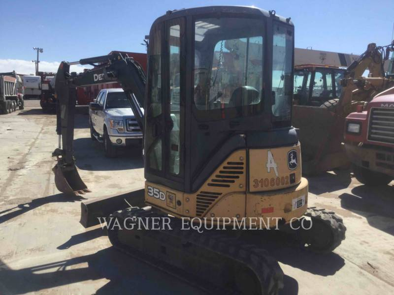 JOHN DEERE KETTEN-HYDRAULIKBAGGER 35D equipment  photo 2