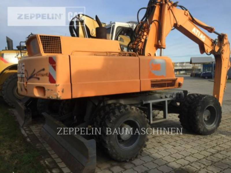 ATLAS WHEEL EXCAVATORS 1604 equipment  photo 3
