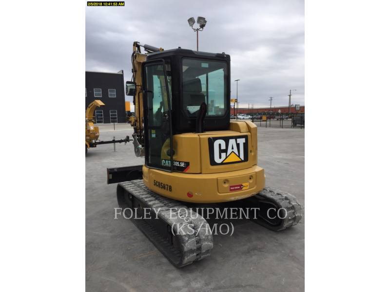 CATERPILLAR KETTEN-HYDRAULIKBAGGER 305.5E2CR equipment  photo 4