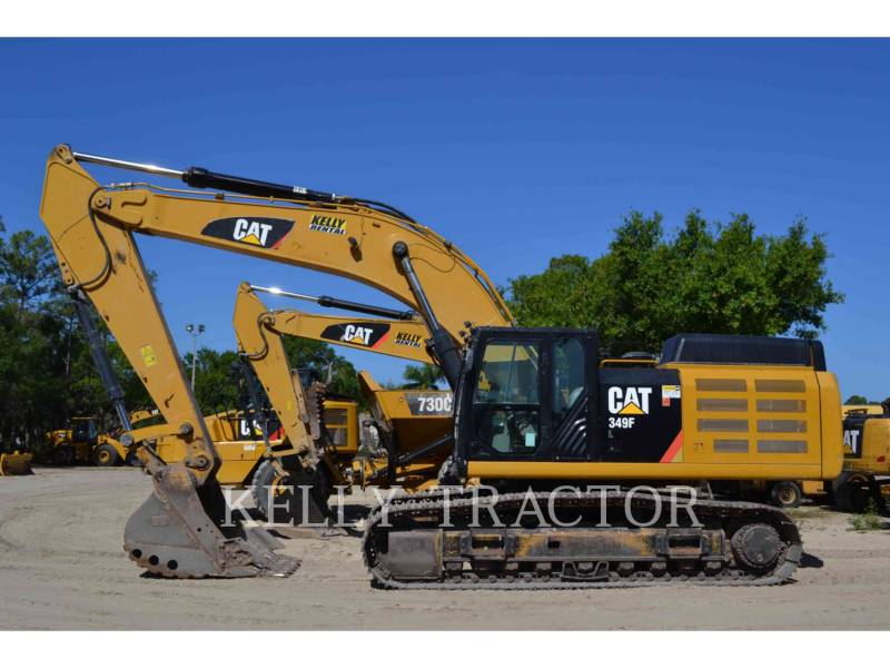 CATERPILLAR KOPARKI GĄSIENICOWE 349FL equipment  photo 1