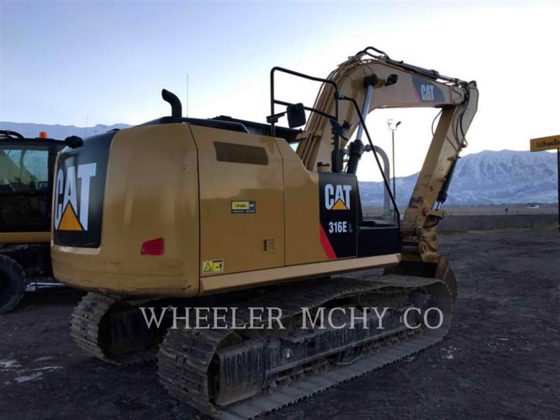 CATERPILLAR TRACK EXCAVATORS 316E L equipment  photo 2