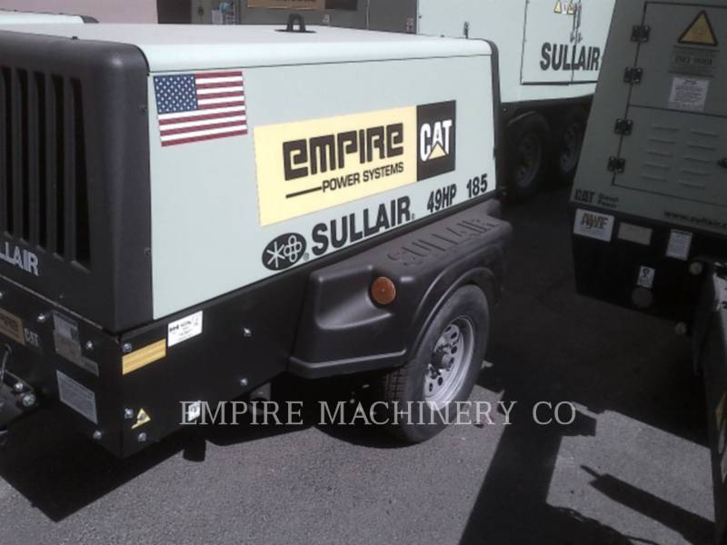 SULLAIR COMPRESOR DE AIRE DPQ185CA equipment  photo 2