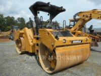 Equipment photo CATERPILLAR CB64 TANDEMVIBRATIONSWALZE, ASPHALT 1
