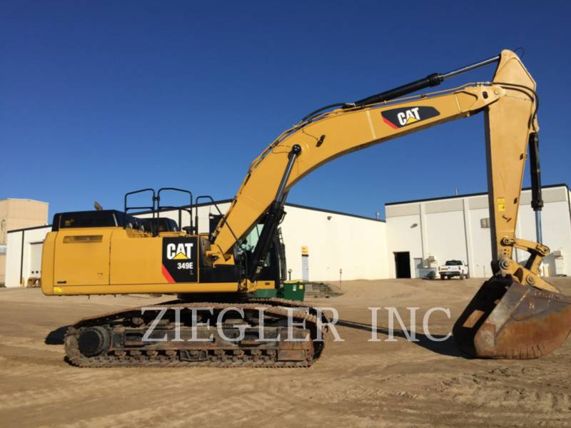 CATERPILLAR TRACK EXCAVATORS 349EVG equipment  photo 7
