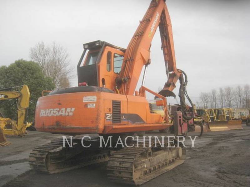DOOSAN INFRACORE AMERICA CORP. MÁQUINA FORESTAL 225LL equipment  photo 2