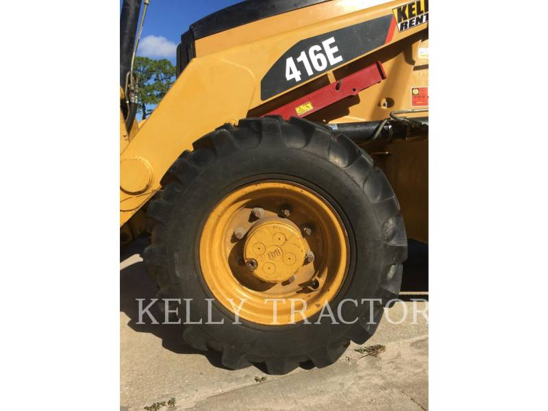 CATERPILLAR BAGGERLADER 416EST equipment  photo 12