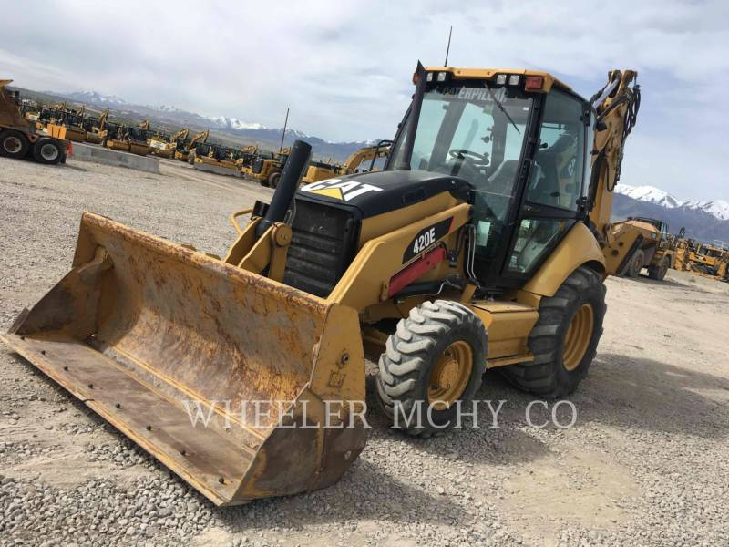 CATERPILLAR BAGGERLADER 420E E THM equipment  photo 2