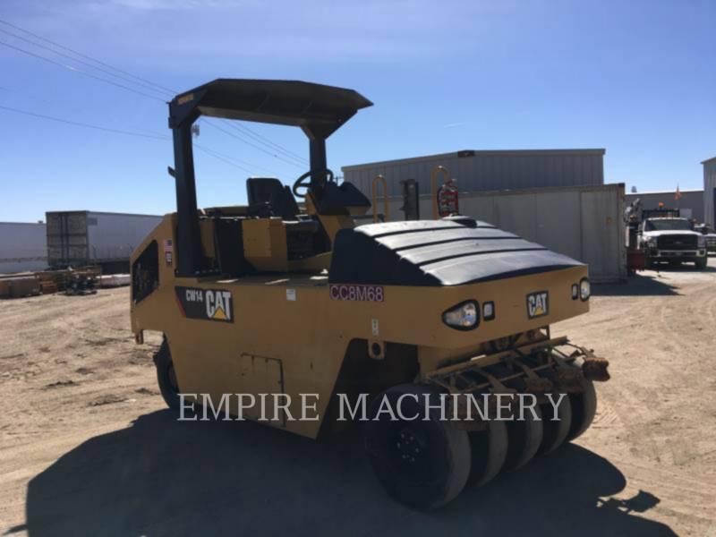 CATERPILLAR PNEUMATIC TIRED COMPACTORS CW14 equipment  photo 1