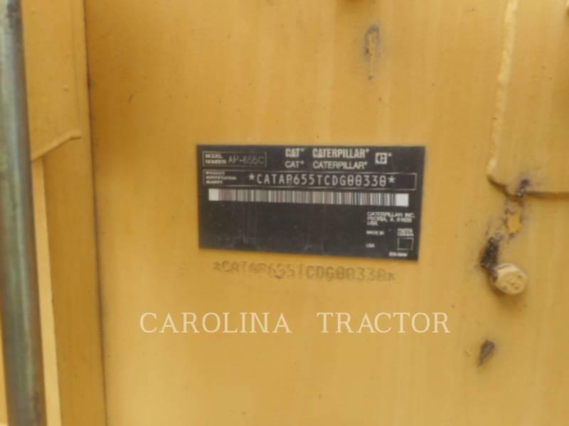 CATERPILLAR ASPHALT PAVERS AP655C equipment  photo 15