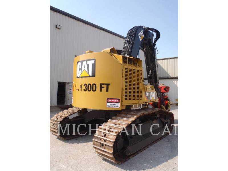 CATERPILLAR MACHINE FORESTIERE 501HD equipment  photo 3