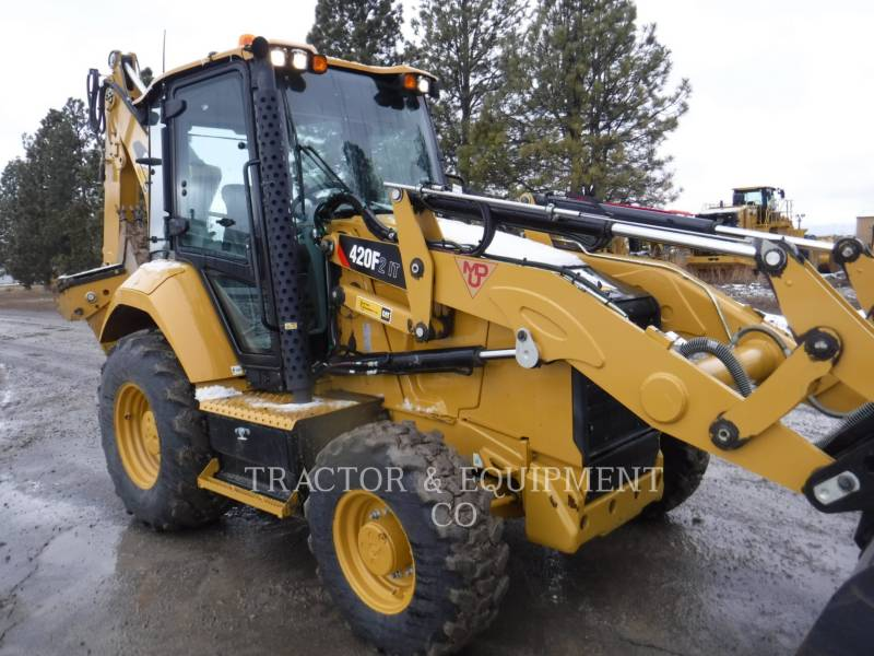 CATERPILLAR CHARGEUSES-PELLETEUSES 420F2IT equipment  photo 8